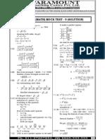 Ssc Mains (Maths) Mock Test-9 (Solution)