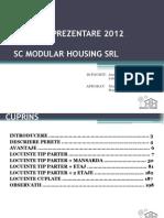 Catalog Prezentare 2012 Modular Housing SLR