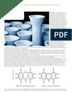 Manga cerâmica Renner Pyrotex para filtração de dioxinas e furanos