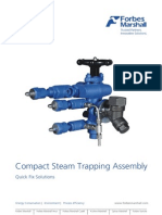 Compact Steam Trap Assembly
