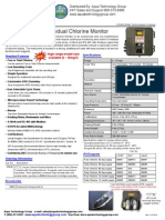 CLX Online Chlorine Analyzer Brochure - HF Scientific 20040