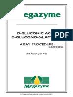 Gluconic Acid Assay Procedure
