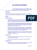 RBI 50-50 Move and Impact of Rising Interest Rates-VRK100-24062008