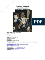 16825965 Michael Jackson Alias POP in Depth Coverage
