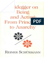 111155118 Schurmann Reiner Heidegger on Being and Acting From Principles to Anarchy