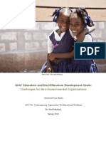 Girls' Education Case Study