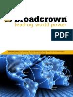 Broadcrown Presentation
