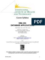 dba 201 syllabus piht winter 2014