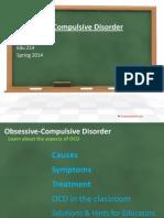 Obsessive-Compulsive Disorder Presentation