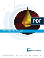 GCMS Oils and Fats