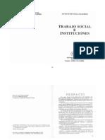 Faleiros - Trabajo Social e Instituciones
