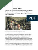 Ulises, el mito y la belleza. - Entrevista a José Emilio Burucúa.