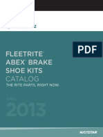 Fleetrite Brake Shoe Kits