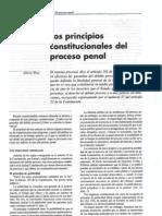 Principios Constitucionales Del Proceso Penal