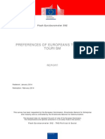 Flash Eurobarometer 392 Preferences of Europeans Towards Tourism