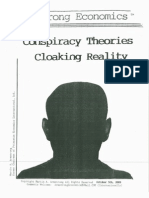 Conspiracy Theories Cloaking Reality 10/5/09