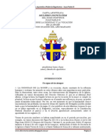 Carta Apostólica Mulleris Dignitatem – Juan Pablo II