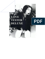 LOVE TESTER DELUXE by Penny Goring