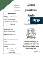 Jesus Mi Salvador