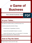 the game of business