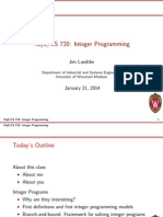 Lecture 1 integer programming