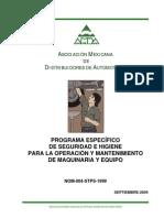 101449377 Manual Manto Equipo Nom 004
