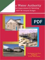 FY 07-08 IWA Budget - Copy