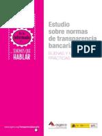 Estudio sobre Normas de Transparencia Bancaria