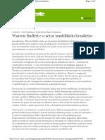 1 Warren Buffett e o setor imobili+írio brasileiro