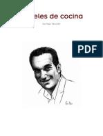 Papeles de Cocina Artesania Luis Franco