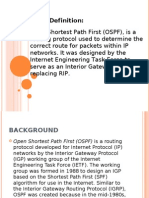 OSPF Definition