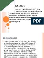 OSPF Definition
