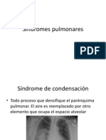 Sindromes pulmonares