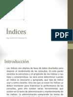 Indices SQL