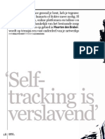 Interview 'Self-tracking is verslavend' - Emerce - November 2011