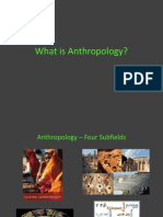 1. What is Anthropology