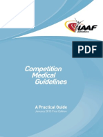 IAAF Competition Medical Guidelines - January 2013 First Edition