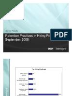 Retention Practices in Hiring Processes Survey
