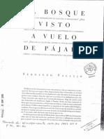 El bosque visto a vuelo de pájaro - Fernando Vallejo