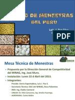 Red de Menestras en el Perú