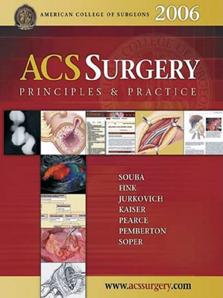 Acs surgery principles and practice webmd 2006 ww fandeluxe Image collections