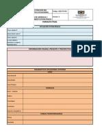 GGD-FO-002 ESTRUCTURACIÓN DEL DIAGNOSTICO SITUACIONALAGNOSTICO