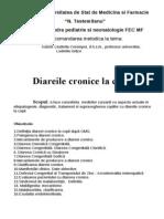 recomandări metodice diareea cronică