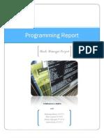 Programming Report