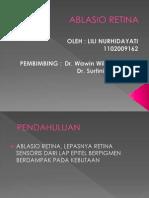 Ablasio Retina hjhj