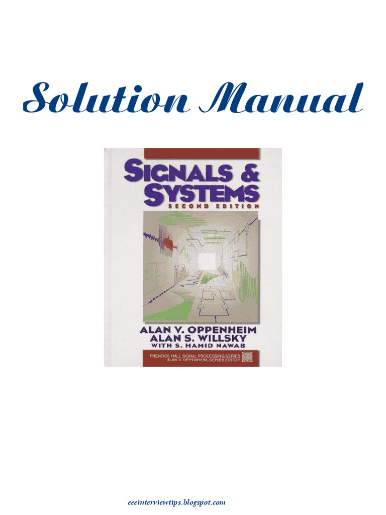 alan v oppenheim signals and systems free ebook