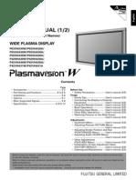 Fujitsu Plasma Manual