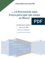 Relatório de FQ2 - queda livre