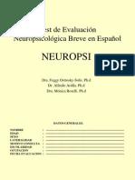 Clase de Neuropsi