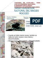Caraterizacion de Macizo Rocozo
